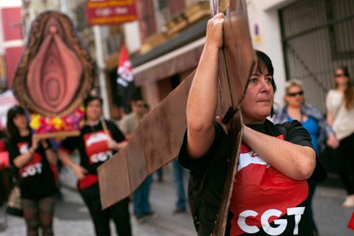 coño insumiso procesion Sevilla