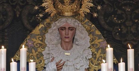 Virgen del Amor medalla oro policial