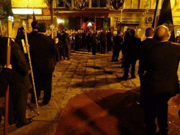 procesión cofradía civil Sevilla