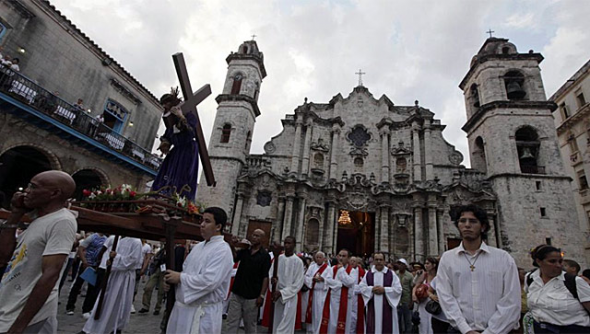 semana santa Cuba