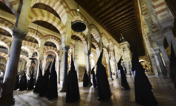 mezquita Córdoba procesión semana santa