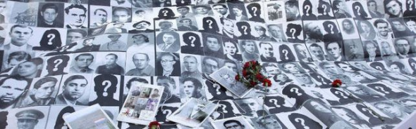 pancarta desaparecidos franquismo