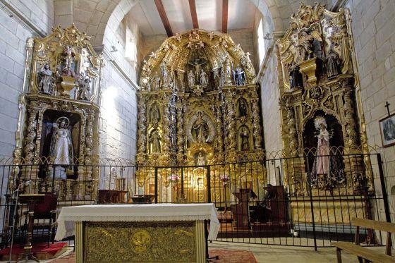 retablo convento clarisas Tui