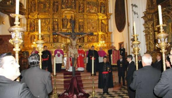Cristo mutilado en Málaga 2011
