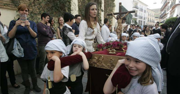 procesión escolar semana santa Córdoba 2014
