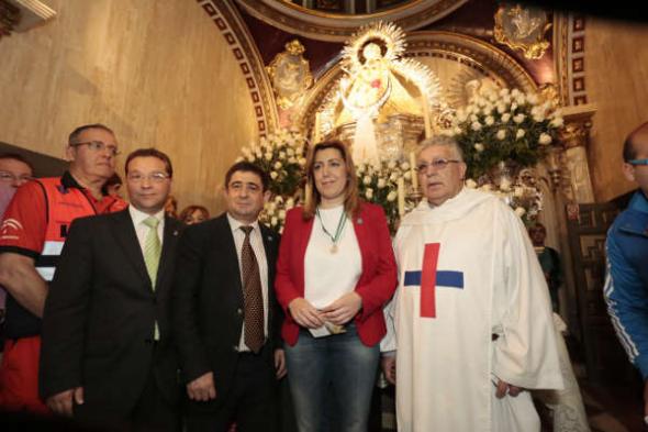 Susana Díaz Virgen de la Cabeza 2014