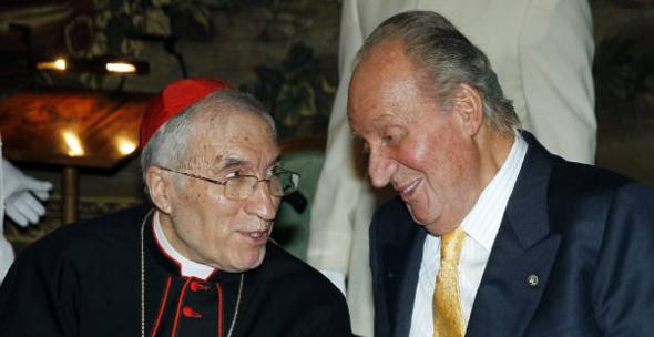 Rey y Rouco Roma 2014