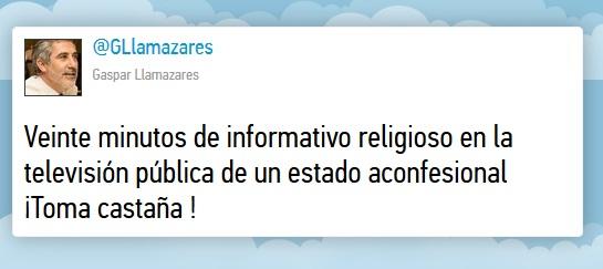 canonizaciones TVE 20124