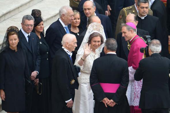 autoridades españolas canonizaciones 2014