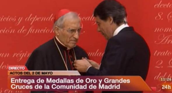 Rouco medalla de oro de Madrid 2014