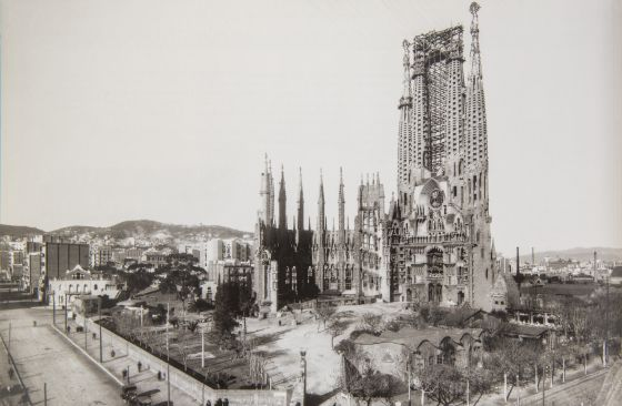 Sagrada Familia Barcelona 1928