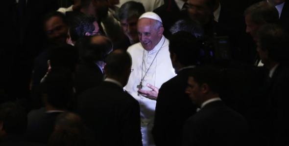Bergoglio con Acción Católica