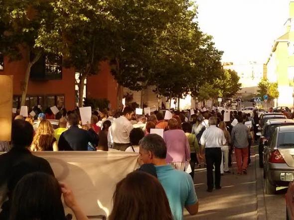 protesta Carabanchel igleisa kikos 2014