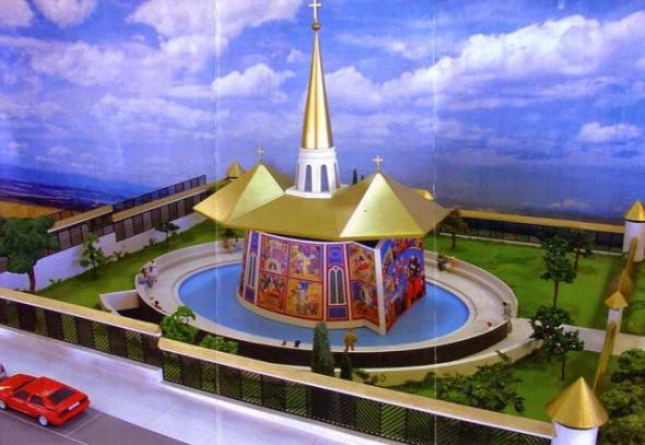 Maqueta de la iglesia Catalina de Labouré