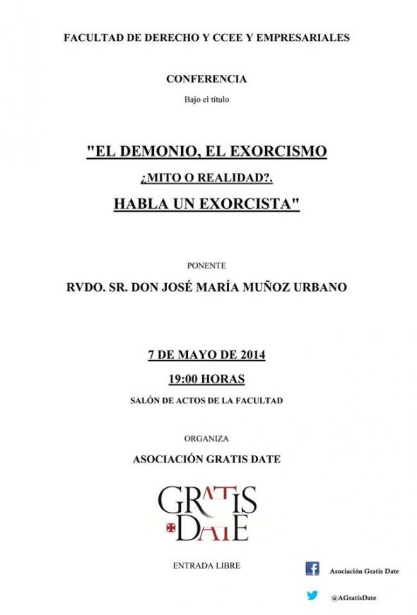 conferencia exorcista Córdoba 2014