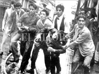 protesta estudiantil 1958 Argentina