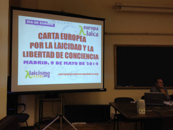 Carta Europea presenta Madrid 2014