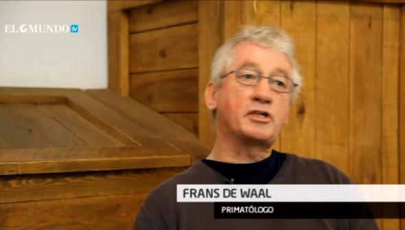 Frans de Waal primatólogo