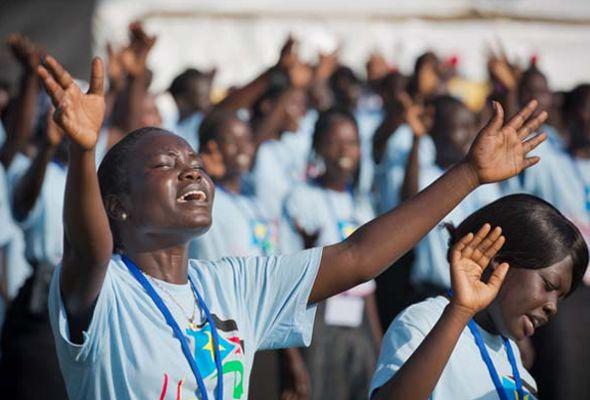 cristianas Sudán