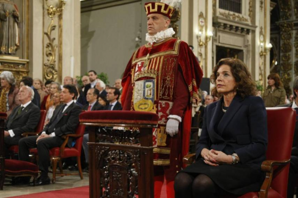 Autoridades misa san Isidro Madrid 2014