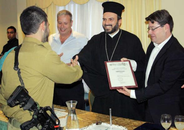 Soldados Cristianos Ejército de Israel