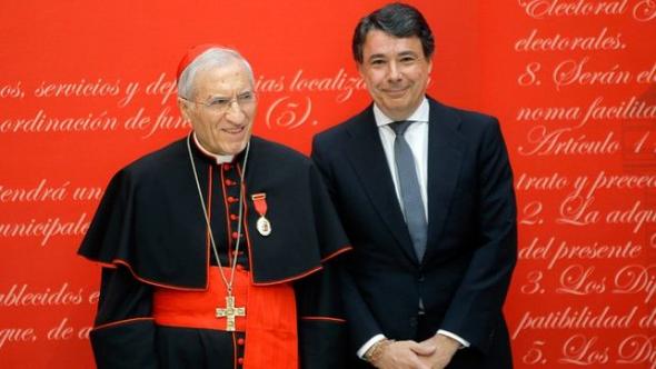 Rouco medalla Comunidad Madrid 2014