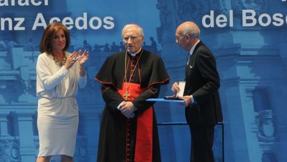 Rouco medalla Ayuntamiento Madrid 2014