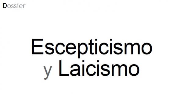 Escepticismo y laicismo