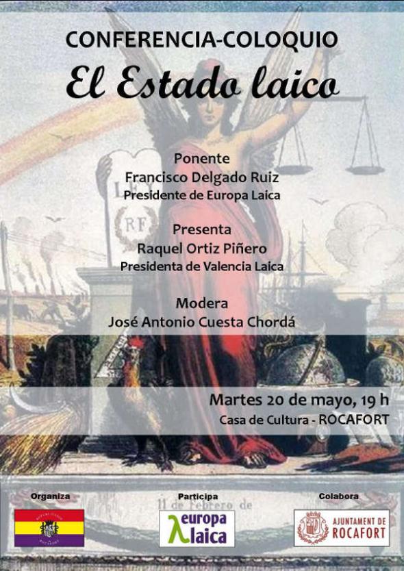 Conferencia Estado laico Rocafort