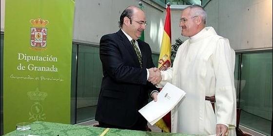 firma cesión hospital San Juan de Dios 2014