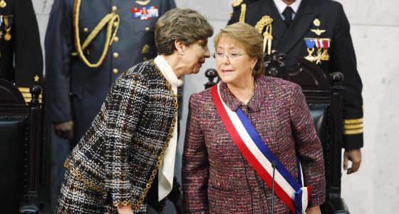 Michelle Bachelet presidenta Chile 2014