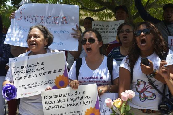 mani aborto El Salvador 2014