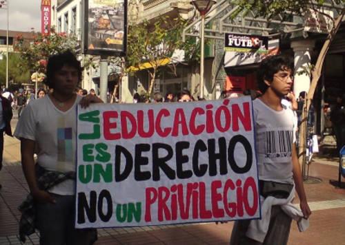 educación Chile protesta
