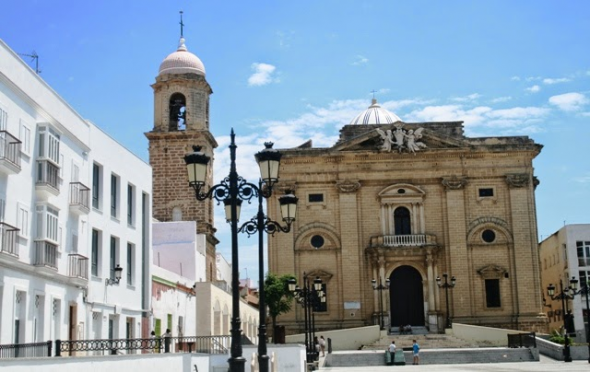 iglesia mayor Chiclana