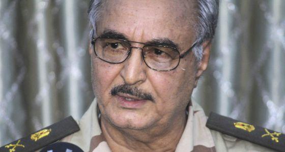 general Jalifa Hifter Libia