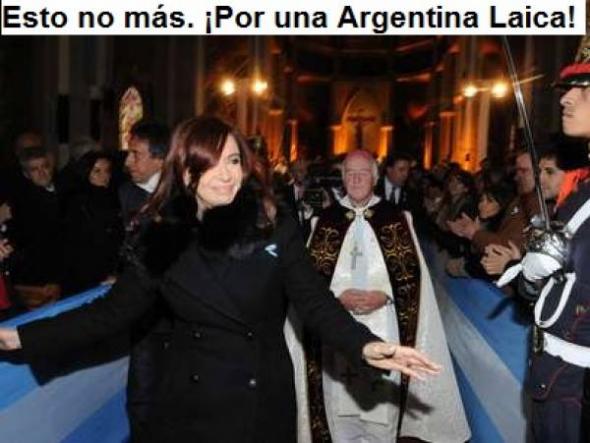 Te deum 25 mayo Argentina