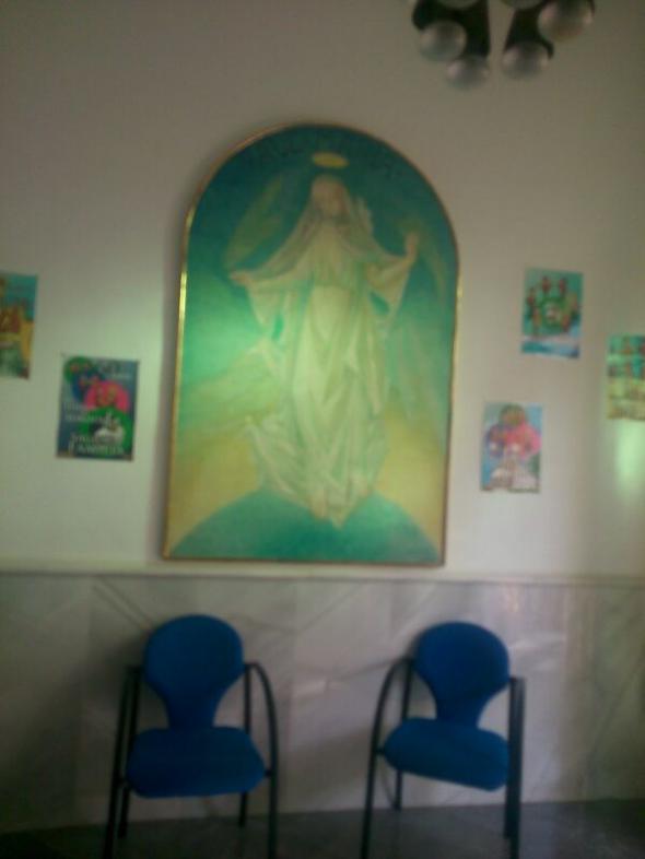 Mesa electoral Colegio sordos Sagrada Familia GR 2014