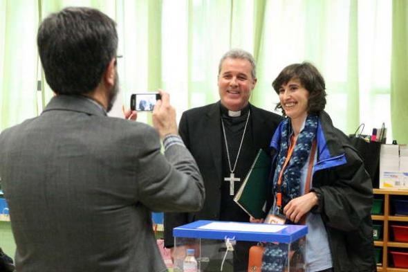 mesa electoral obispo Bilbao Iceta