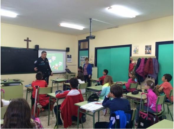 aula crucifijo CEIP Argamasilla Calatrava