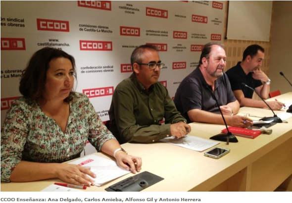 CCOO Enseñanza Catilla La Mancha