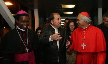 obispos y gobierno Nicaragua 2014