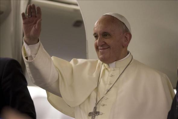 Bergglio vuelve Palestina 2014