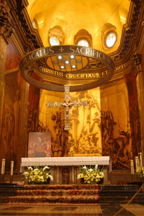 altar catedral Vic