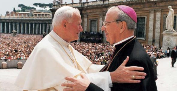 Juan Pablo II y Portillo Opus Dei