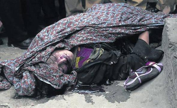 mujer lapidada Pakistán 2014