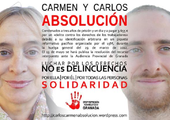 represión Granada