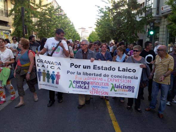 Mani libertad no represión Granada 2014a