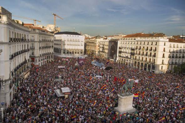 mani república Madrid 2014