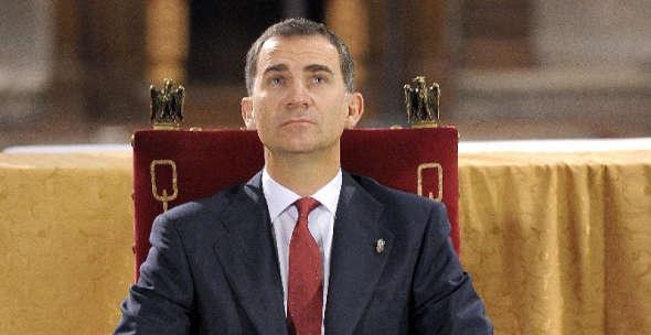 Felipe de Borbón 2014