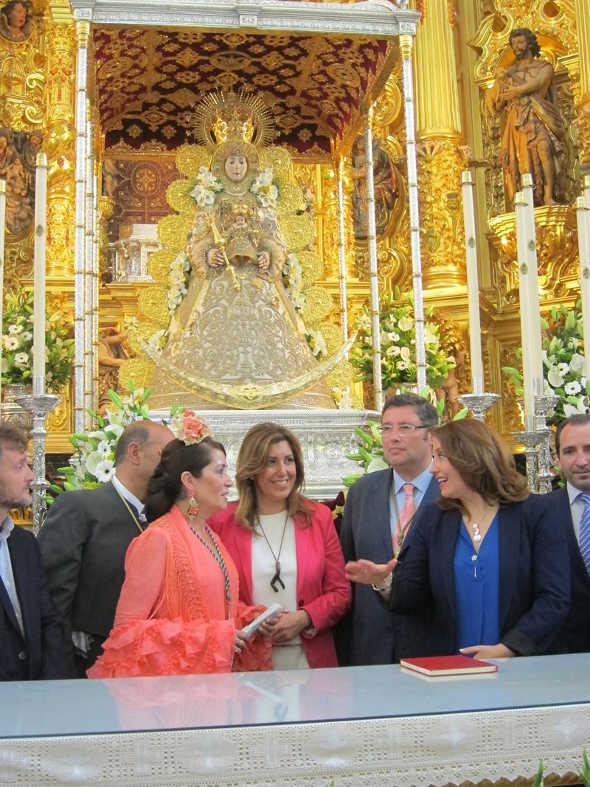 Presidenta Andalucía en el Rocío 2014